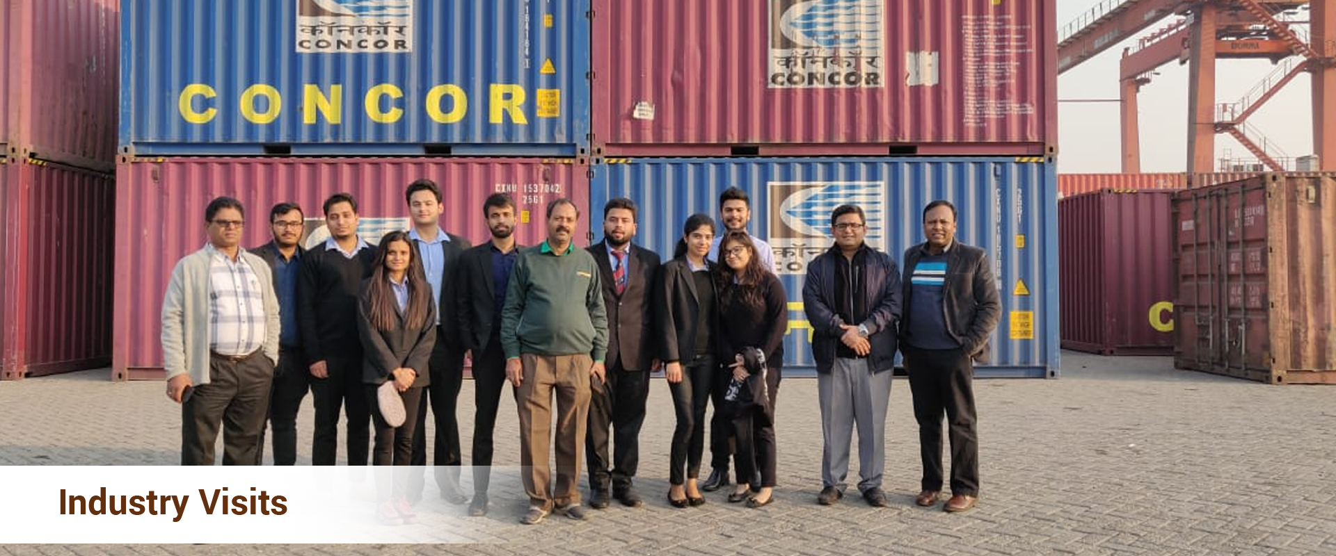 Industry visits for MBA students