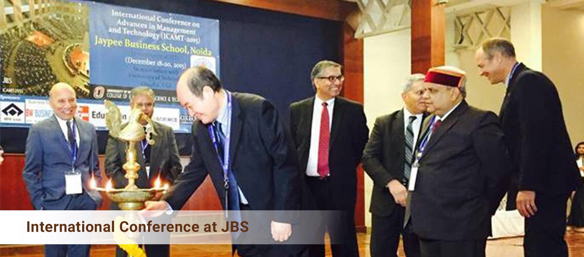 International Conference at JBS